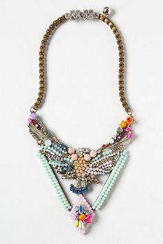 Beaded Phoenix Necklace - Anthropologie.com