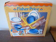 Fisher Price Fun with Food Dish Rack