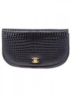 Chanel Vintage Crocodile Skin Bag