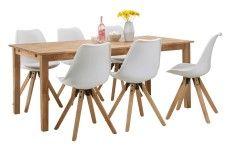 RIO-ruokapöytä ja 6 LOGAN-tuolia