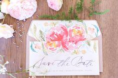 Hochzeitsdeko mit Blumenmuster | Friedatheres.com