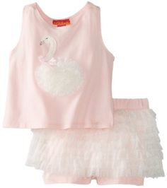 Kate Mack Baby-Girls Newborn Swan Lake Tee and Short, Pink, 6 Months Kate Mack http://www.amazon.com/dp/B00GUCYB0W/ref=cm_sw_r_pi_dp_dDa6ub0BTM4TG