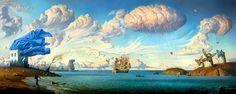 vladimir kush: metaphorical journey