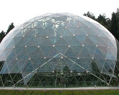 ICO dome 11 m, Glass and aluminum, Merkyne, LT