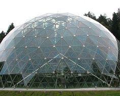 ICO dome 11 m, Glass and aluminum, Merkyne, LT