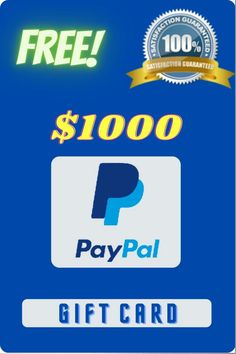 Gift Card Deals, Best Gift Cards, Gift Cards Money, Paypal Gift Card, Gift Card Giveaway, Free Gift Cards, Free Gifts, Paypal Money Adder, Credit Card App