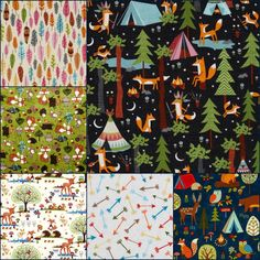 Camping Fabric @ Just Another Hang Up: Textile Tuesday...