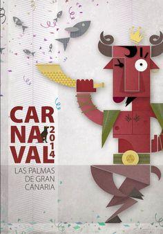 El Carnaval de Las Palmas no se merece un cartel de stock (Actualizado) – Código Visual