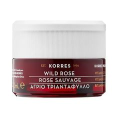 Shop KORRES' Wild Rose Vitamin C Brightening Moisturiser at Sephora. This vitamin C daily moisturizer brightens and hydrates skin for up to 24 hours. Homemade Face Moisturizer, Natural Face Moisturizer, Moisturizer For Oily Skin, Face Cleanser, Younger Skin, Best Face Products, Beauty Products, Beauty Tips, Moisturiser
