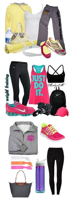 Workout Clothes Ideas | Crafting in the Rain >>> Click through to see sources #exercise #fitness