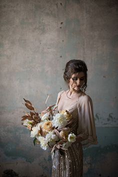 We're loving the moody vibe of this bridal shoot by SWEET ROOT VILLAGE that we…