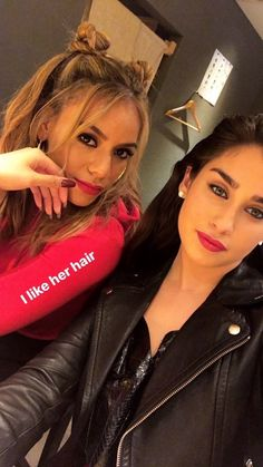 Dinah and Lauren Ally Brooke, Fifth Harmony Camren, Jane Hansen, Female Friendship, Camila And Lauren, Dinah Jane, Best Dance, Future Wife, Girl Bands