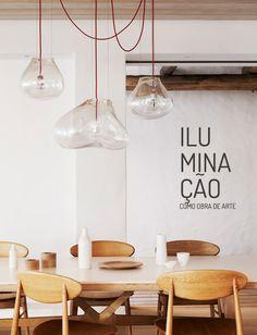 Luminárias que parecem obra de arte. Veja mais: http://www.casadevalentina.com.br/blog/materia/ilumina-o-como-obra-de-arte.html  #decor #design #decoracao #light #luminaria #art #arte #casadevalentina #details #detalhes