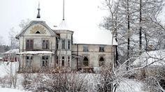 Bollstabruk Missionshus-Sweden Such a fantastic wooden structure!