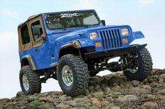 Jeep Wrangler YJ 4'' Lift Kit