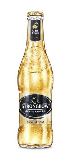Maailman suurin siideribrändi, aito brittiläinen Strongbow, tuo markkinoille uuden hedelmäisen omenasiiderin Strongbow Goldin 4,5%. Strongbow Gold Apple -siiderissä yhdistyvät aito luonnollinen omenan maku ja maailman johtavan siideribrändin pitkä historia ja osaaminen.  Strongbow Gold Apple on hieman makeampi ja helpommin lähestyttävä vaihtoehto perinteiselle ja kuivalle Strongbow-siiderille; Gold Applessa maistuu pehmeästi vihreän omenan hedelmäinen maku.