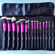 Oh how I would love to get my hands on this // Cosmetic Brush Set