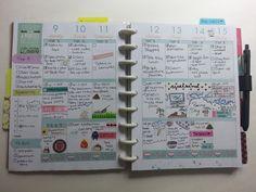 Week 19 Happy Planner Recap