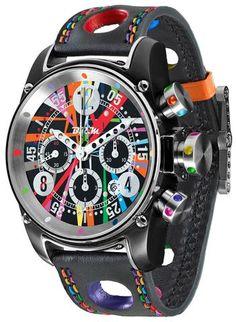 2866e823e76 B.R.M Watch T12-44 Divemaster Art Car Limited Edition Relógios Masculinos