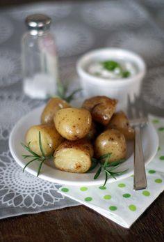Aus dem Mini-Slowcooker: Rosmarin-Kartoffeln