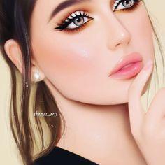 Cartoon Girl Images, Girl Cartoon, Stylish Girl Images, Stylish Girl Pic, Girly M Instagram, Ballet Hairstyles, Lovely Girl Image, Cute Couple Art, Cute Girl Drawing