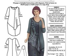 Judith Suite PDF sewing pattern 2 MEDIUM sizes от pearlredmoon