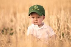 Little boy with his John Deere tractor hat Kids Photography Boys, Farm Photography, Indoor Photography, Makeup Photography, Photographing Boys, Toddler Photos, Baby Boy Photos, Foto Baby, Cute Photos