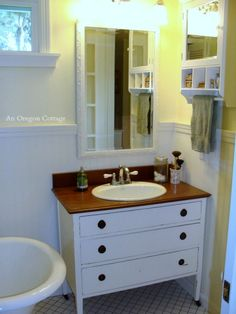 How To Make A Dresser Into A Vanity
