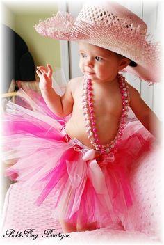 First Birthday SEWN tutu  Custom baby tutu  You by PICKLEBUG