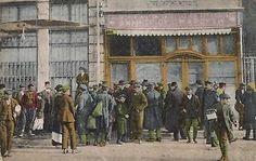 Greece-Thessaloniki-Salonica-Salonique-Bakery-Old-Postcard