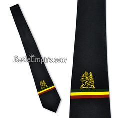 Lion of Judah Tie - Black