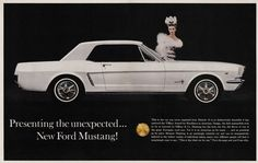 happy birthday ford mustang | Ford Motor Co. 1965 Ford Mustang advertisement
