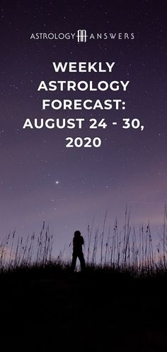 There's exciting energy in the air this week with the Sun in Virgo and a waxing Moon!   Here is your weekly astrology forecast for August 24 - 30, 2020. #astrology #astrologyoverview #weeklyoverview #weeklyhoroscope Weekly Astrology, Weekly Horoscope, Sensory Processing Disorder Symptoms, Astrology Forecast, Relationship Compatibility, August 24, Article Writing, Virgo, Tarot