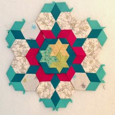Periwinkle Quilting and Beyond: millefiore quilt