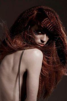 www.menschenimsalon.de präsentiert von www.my-hair-and-me.de #women #hair #haare #long #lang #geflochten #braun #brown