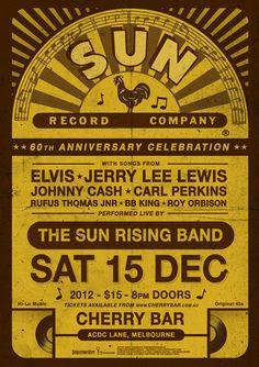 sun records flyers - Google Search
