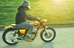 Bronco build by Kedo - Yamaha SR400