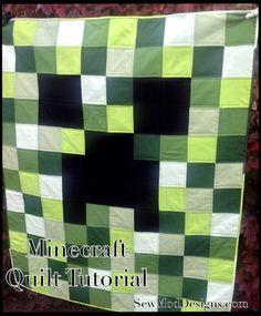Best Minecraft Quilt Images On Pinterest Minecraft Quilt - Minecraft hauser guide