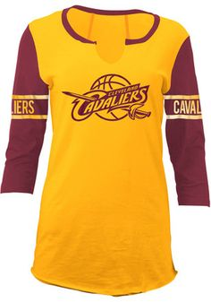 "V-NECK Ladies Lebron James Cleveland Cavaliers /""King James/"" T-shirt"