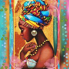 Best 11 DIY Diamond Painting woman fantasy Home Decor Full Drill Nation Picture Of Rhinestone Mosaic Dia – SkillOfKing. Black Love Art, Black Girl Art, Art Girl, Afrique Art, African Art Paintings, African American Art, African Women, Fashion Wall Art, Identity Art
