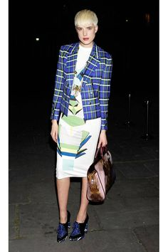 Agyness Deyn Style - Fashion Pictures of Agyness Deyn - Elle Style, Nice Dresses, Men Wearing Dresses, Fashion Pictures, Street Style, Agyness Deyn, Fashion, Celebrity Style, Classic Trend