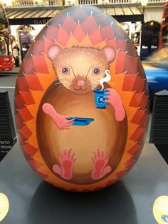 Faberge hamster egg near Leicester Square #BigEggHunt