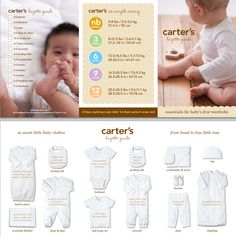 Carters Baby Registry with BabyList