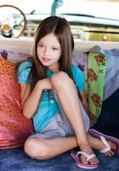 Mackenzie Foy shes much cuter when they aren't animating her face.