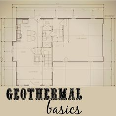 Geothermal basics for new construction Considering a geothermal HVAC system in your new home? Learn more about how these systems work, how much they cost, and how they compare to traditional furnaces. Building Costs, Building A New Home, House Building, Building Ideas, Building Quotes, Building Materials, Room Hire, Geothermal Energy, Cost To Build
