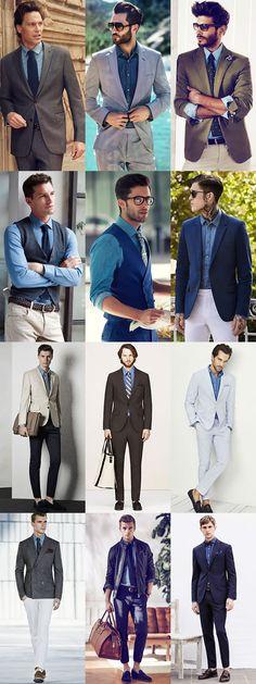 The Easy Ways To Wear Denim This Season: Denim Shirts & Tailoring Lookbook Inspiration