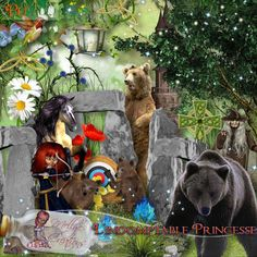 Kit L'indomptable princesse par Mellye Creations