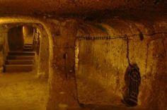 Derinkuyu, Turkey, the underground city.