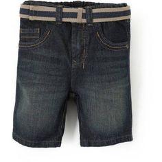 Wrangler Toddler Boy Premium Slim Straight Shorts, Size: 3 Years, Blue