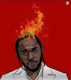 Listen to every Kendrick Lamar track @ Iomoio Kendrick Lamar Songs, J Cole Art, Kung Fu Kenny, Estilo Hip Hop, Badass Movie, Trill Art, Jay Rock, Rapper Art, Hip Hop Art
